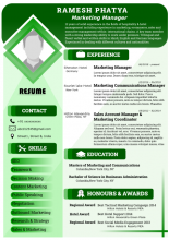 Thumbnail of Resume_01 template