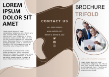 Thumbnail of Trifold Brochure 01 template